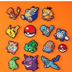 Pokemon perler beads by tempo_da_perlers                                                                                                                                                                                 More