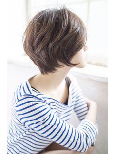 シャンドゥール栄 大人かわいいマニッシュショートボブby宮本 - 24時間いつでもWEB予約OK!ヘアスタイル10万点以上掲載!お気に入りの髪型、人気のヘアスタイルを探すならKirei Style[キレイスタイル]で。