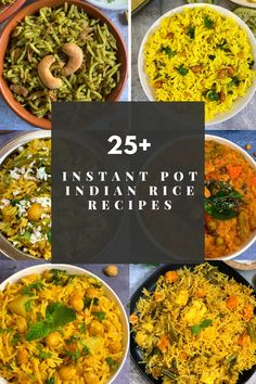 Crockpot Indian Recipes, Vegetarian Rice Recipes, Vegan Indian Recipes, Rice Cooker Recipes, Vegetarian Curry, Vegetarian Dinners, Pressure Cooker Recipes Vegetarian, Easy Recipes, Vegan Recipes