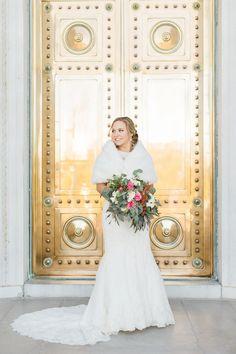 Olivia's Capitol Building Bridal Session // Arkansas Wedding Photographer