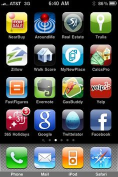 Judy's iPhone Real Estate Apps