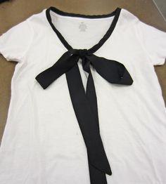 Life Like Honey: Tutorial for a Cute Bow T-shirt