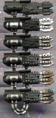 From the Warp: How to paint soot stained gun barrels