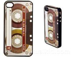 iPhone 4 Cassette Case  $10.49