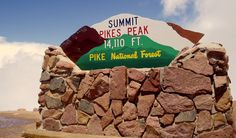 Pikes Peak-- Our annual sister hike destination next year, from the bottom up! #pinpikespeak