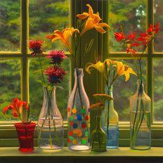 Mid-Summer Flowers  // Artist Scott Prior