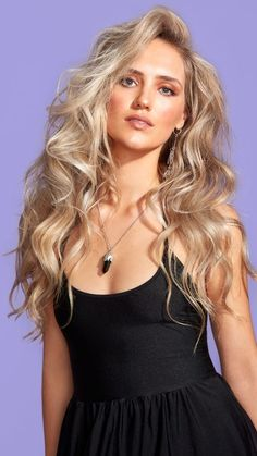 BLONDE BEACH WAVES Creative Colour, Beach Waves, Formal Dresses, Hair, Color, Fashion, Dresses For Formal, Moda, Formal Gowns