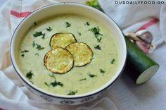 Supa crema de zuchini sau dovlecei - OurDailyFood Cheeseburger Chowder, Soup, Cream, Soups