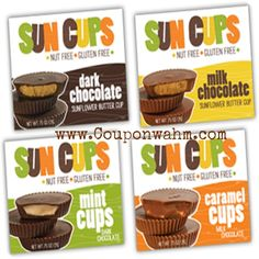 Review ~ Suncups:Nut Free Gluten Free Chocolate