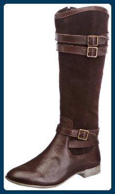 Hush Puppies Farland 14 BT, Damen Chelsea Boots , Braun - Dark Brown - Größe