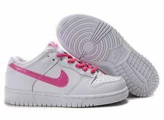 UK Market - Nike Dunk SB Low Cut Womens All White Pink Trainers Michael Jordan Shoes, Air Jordan Shoes, Nike Air Max Trainers, Sneakers Nike, New Jordans Shoes, Air Jordans, Women's Shoes, Nike Air Max For Women, Nike Women