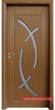 Интериорна врата - Код 056, Цвят Златен Дъб
