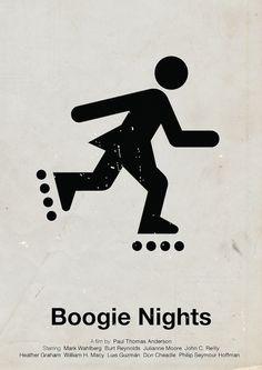 ★ Boogie Nights | Pictogram Movie Posters (12 total) by Viktor Hertz | via My Modern Metropolis