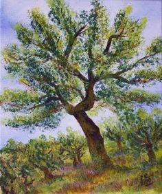 Ateliér Kika: Olive Tree