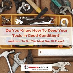 We get asked this one a lot - how do you keep hand tools in good condition and keep getting the best results out of them? To get the most out of your tools, hand tools must be regularly maintained. If any liquid or foreign matter comes into contact with the hand tool, immediately clean it using an appropriate cleaning agent or water. Keep hand tools stored when not in use, especially in any protective casing. Avoid using hand tools for uncommon purposes. 03 9793 3558 56 Amberley Cres…