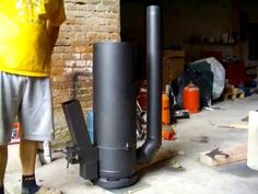 Rocket Stove (finished) - GERMAN / Raketenofen (endlich fertig) - YouTube