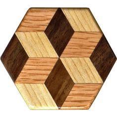 Pequeña rotación bloque patrón pesos por woodmosaics en Etsy