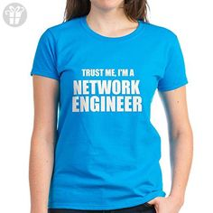 CafePress - Trust Me, I'm A Network Engineer T-Shirt - Womens Cotton T-Shirt (*Amazon Partner-Link)