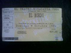 El Bordo - Teatro Rivadavia (La Reina)