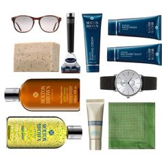 """""""Luxury Presents For Dad"""" by moltonbrown on Polyvore Molton Brown #MoltonBrown"""