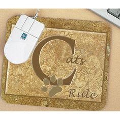 Mouse Pad - Cats Rule