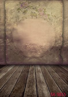 Photo Backdrop With Floor Wood Floors White Chandeliers Draws On The Table Box Cm-4538