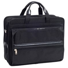 McKlein Elston Double-compartment Laptop Briefcase