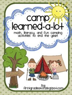 End of the year camp activities. A week long unit including writing, reading, and lots of fun activities.