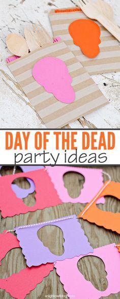 Day of the Dead Party Ideas | anightowlblog.com