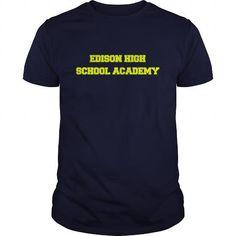 Awesome Tee EDISON HIGH SCHOOL ACADEMY Shirts & Tees