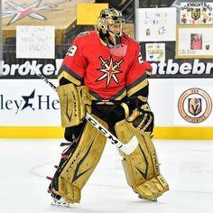 Golden Knights Hockey, Vegas Golden Knights, Goalie Pads, Hockey Memes, Marc Andre, Nhl, Hockey Stuff, Las Vegas, Sports