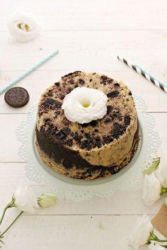 Fluffosa Oreo Oreo 4, American Cake, Angel Cake, Chiffon Cake, Sponge Cake, Cake Cookies, Biscotti, Nutella, Tiramisu