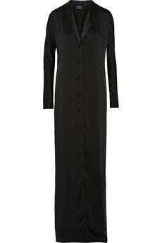 Lanvin Satin gown   NET-A-PORTER