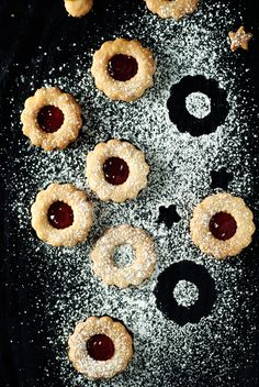Simple Spiced Linzer Cookies | asimplepantry.com #BakeMagicMoments AD