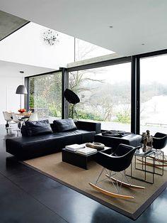Modern living room interior  decor