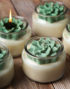 Cute Candles, Best Candles, Diy Candles With Flowers, Natural Candles, Beautiful Candles, Bramble, Velas Diy, Candle Packaging, Candlemaking