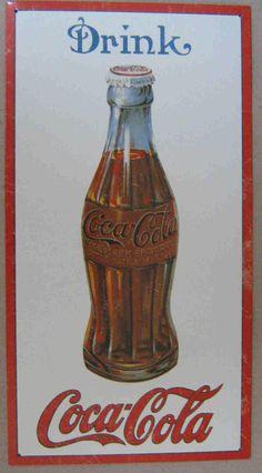 Coca-Cola metal sign