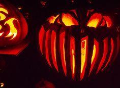 Halloween pumpkin Jack O Lantern - carved it 2015