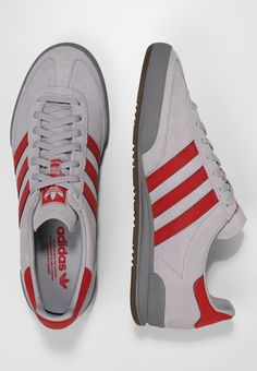 reputable site 6d853 ccf6c adidas Originals JEANS - Matalavartiset tennarit - greytwo scarlet grey -  Zalando.fi