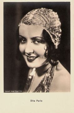 https://flic.kr/p/AMphVA | Dita Parlo | Austrian postcard by Iris-Verlag, no. 6687. Photo: Verleih Hugo Engel Film.  Dita Parlo (1908-1971) was a popular European film star in the late 1920s and early 1930s. She inspired both Dita Von Teese, and Madonna, who used Parlo's name & character from L'Atalante (1934) for her controversial Sex book and Erotica album.  For more postcards, a bio and clips check out our blog European Film Star Postcards Already over 3 million views! Or follow us at...