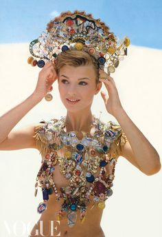 Vintage Vogue Australia - bottle caps