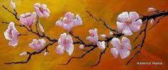 Resultado de imagen para cuadros de flor de cerezo