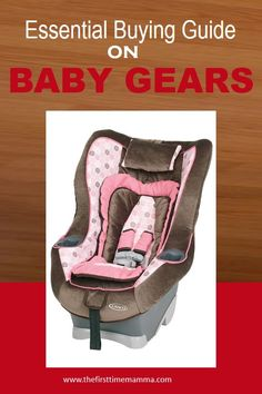 Planning to go out with your baby to the beach, shopping mall or to visit friends and family? You need outing gears that will make it convenient and comfortable for you to do so. Baby Bouncer, First Time Moms, Baby Gear, New Moms, Gears, Diaper Bag, Going Out, Car Seats, Essentials
