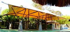 Custom Bamboo Structure in Nicaragua
