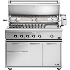 Dcs Heritage 48inch Freestanding Propane Gas Grill With Infrared Burner Kit  Griddle On Dcs Cad Cart  Bh148rgil >>> For more information, visit image link.(This is an Amazon affiliate link and I receive a commission for the sales)