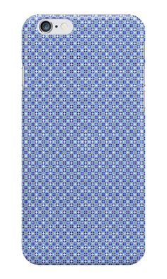 Pattern #1011 - blue  #IPhone #case / #skin with pattern http://www.redbubble.com/people/kuzmich/works/20878463-pattern-1011-blue?c=488730-the-patterns&p=iphone-case&ref=work_collections_grid