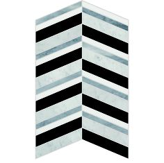 #7 Chevron Collection | Great Britain Tile - America's Floor Specialists - (877) 895-9775 Great Britain, Chevron, Tile, Flooring, Collection, Ideas, Design, Products, Mosaics