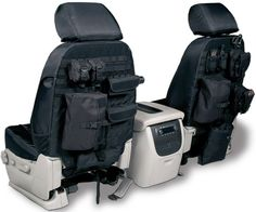 "2003 Toyota Tundra Coverking Tactical Seat Covers - I like the idea of additional storage space in such tight quarters. but I gotta tell you, the idea of a ""tactical"" seat cover is funny. Tactical Seat Covers, Pajero Full, Navara D40, Hors Route, Kombi Home, Hummer H3, Bug Out Vehicle, Jeep Jk, Jeep Wrangler"