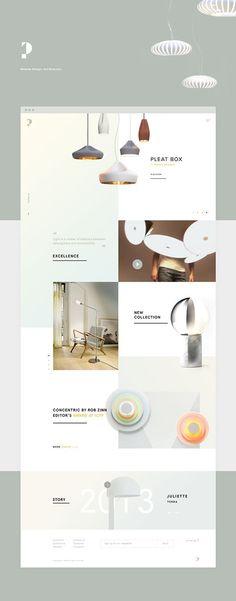 minimal squares layout side by side web design website layout ideas Layout Design, Site Web Design, Interior Design Website, Website Design Layout, Best Web Design, Web Layout, Email Design, Page Design, Ux Design