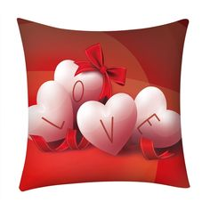Red Valentine's Day Pillow Cover. Nine designs to choose from all on a red background. Red is the colour of LOVE so, spoilt of choice order all designs. Aladdin, Be My Valentine, Valentine Day Gifts, Red Background, All Design, Home Gifts, Gifts For Him, Pillow Covers, Pillows